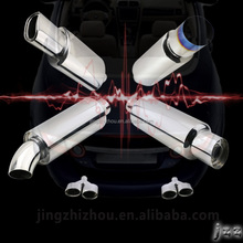 Custom Motorcycle Performance SS304 car HKS Exhaust Muffler/Silencer for Changing Voices Improve Performance For Mazda 6