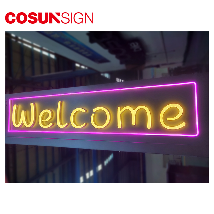 Wholesale Porcelain Embossed Wall Aluminum Business Led Acrylic Base Neon Sign Guitar
