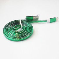 Transparent Braided Cable OEM Android Cell Phone Data Cable