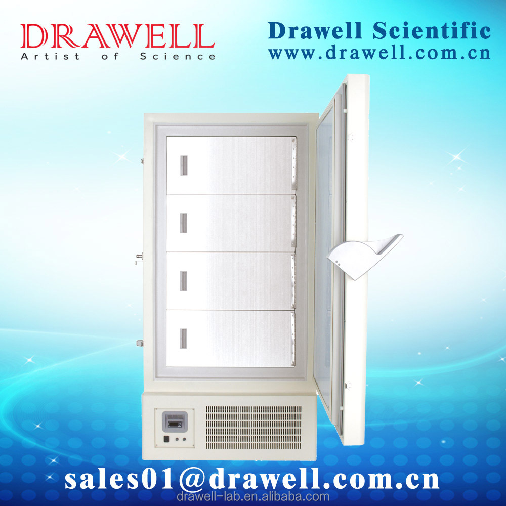 DRAWELL BRAND -60 degree medical chest freezer