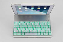 Luminous Ultra-thin Wireless Bluetooth laptop keyboard cover led light For iPad Air/ipad5