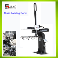 GLASS HANDLING ROBOTS for CNC loading/unloading of float glass sheets/plates