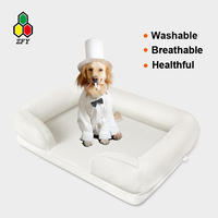 strawberry dog house,breathable and washable with oeko-tex