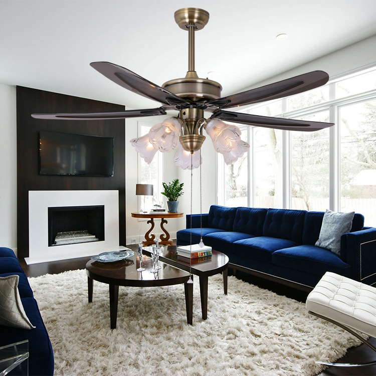 5 light ceiling fan