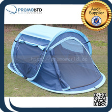Big Boat Shape Pop Up Folding Camping Tent For 1-2 Persons