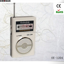 Mini Portable Pocket With Earphone Receiver FM / AM 2 Band Radio