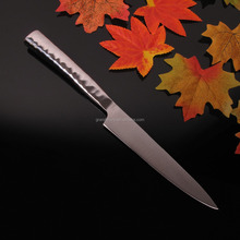 2017 New arrival High quality 5 inch stainless steel blade kitchen knife chef utility knife with stainless steel handle