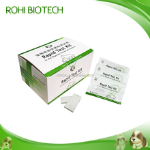 Clinical canine parvovirus rapid test kit/CPV diagnostic testing kit
