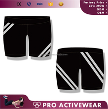 wholesale private label Factory Price Gym Wear Shorts,customized Ladies Lycra jogging pants