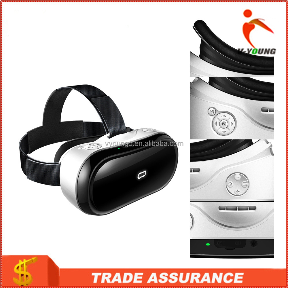 Wholesale bluetooth vr box All in one VR headset with screen, no need smart mobile phone