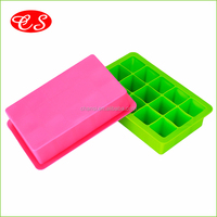 BPA Free Food Grade High Quality Silicone ice tray FDA approved custom ice cube tray