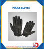 Police glove back zip provide with kevlar protection real leather