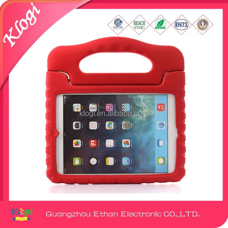 EVA foam shock proof waterproof case kids tablet 7 inch protective case with handle