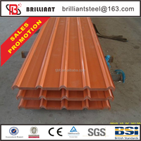 non asbestos corrugated roofing sheets 16mm thick steel plate soundproof roofing sheets