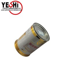 China tin can manufacture recyclable feature metal can packing milk powder