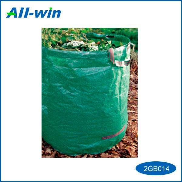 Garden park public PE best quality colored cheap wear belts garbage bag with two handles