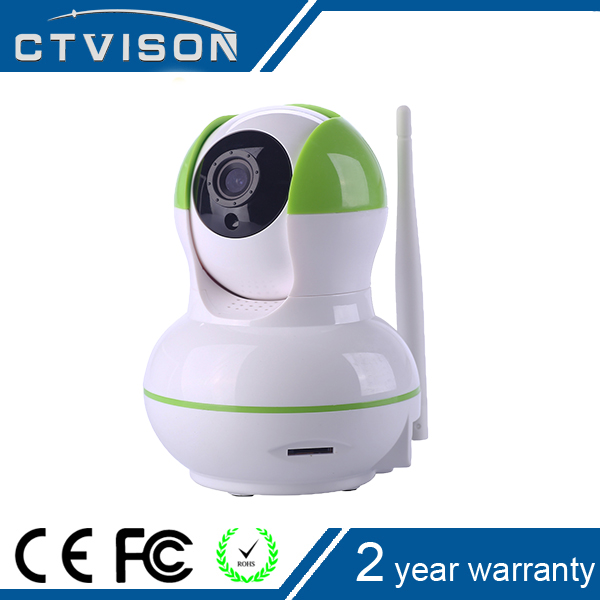 indoor motion detecting auto tracking ptz ip camera 960p