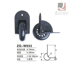 ZQ-W033 Good quality durable plastics suitcase wheels for luggage