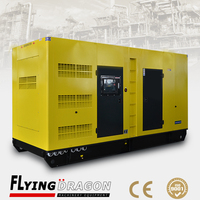 320kw diesel generator set 60Hz ECM fuel system powered by 2206A-E13TAG5 engine