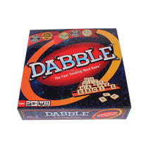 Dabble Game with plastic tiles