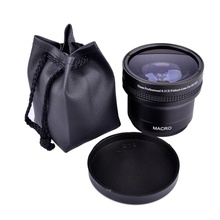 Super Wide angle 52mm fisheye lens macro for Nikon D300 D3100 D5000 D5100
