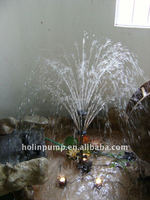 make a fountain bamboo with pump