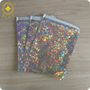 Wholesale cheaper aluminum foil holo film Color Mailer Envelope for gifts and postage packing