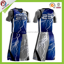 digital sublimation best reversible basketball tops design, girls youth basketball uniforms