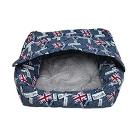 2016 New Fashion Dogs Cave House Cover Sofa Luxury Pet Products Waterproof Dog Bed Cushion