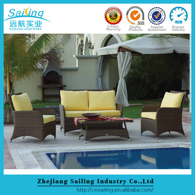 Sailing Wholesale Rattan Used Wicker Cheap Patio Furniture For Sale