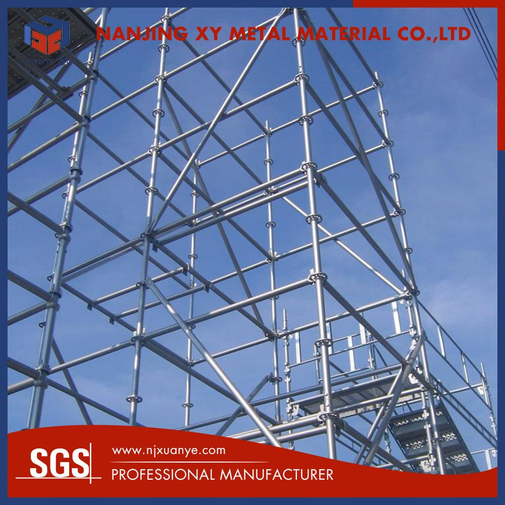 Building accessories Install rapidly ringlock cheap scaffolding system