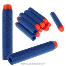 Blue epe tube/rod color foam bullets