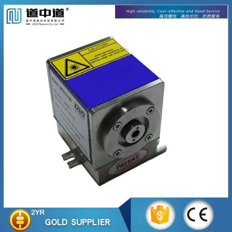 High power YAG CW laser resonator module for solid-state Lasers