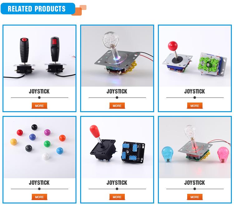 Bouton longa Vida Diy Arcada Joystick, Joystick de Arcade Replacment