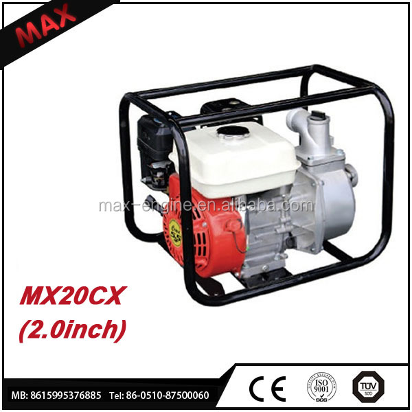 2 inch Small Single Cylinder High Pressure Gas Water Pump For Sale
