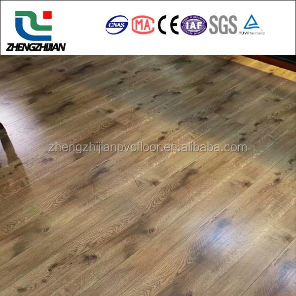 Plastic composite waterprooof and fireproof pvc vinyl flooring