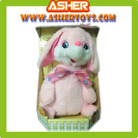 New Creative Cute Electric plush Rabbit Toys