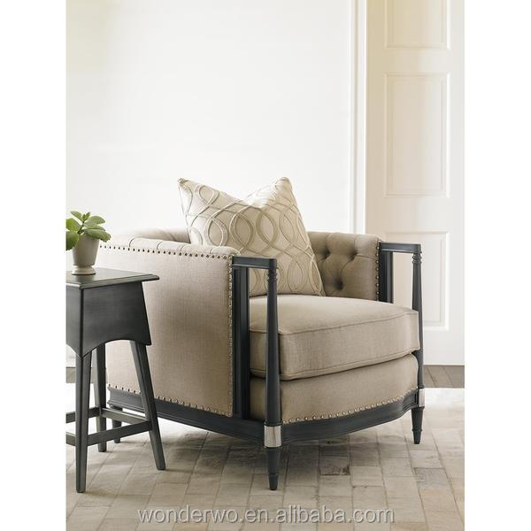armchair living room. French style courant chair tufted inback and inarm armchair living room  furniture