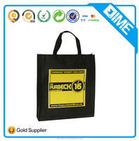 Wholesale Advertisment Colorful Market Shopping Bag Recyclable Non Woven Bag