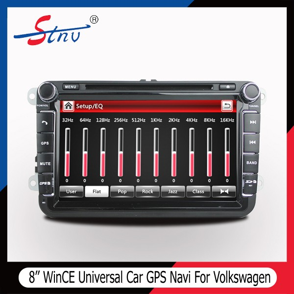 8 Inch VW In Dash Autoradio GPS With Navigation/Touch Screen/DVD/BT