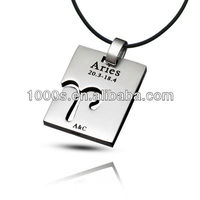 Fashion Design Stainless Steel Aries Pendant For Boy