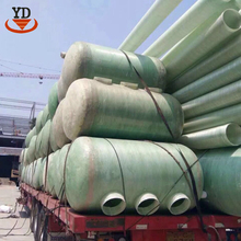 Heating and heat preservation frp fiberglass reinforced septic tanks for domestic sewage treatment