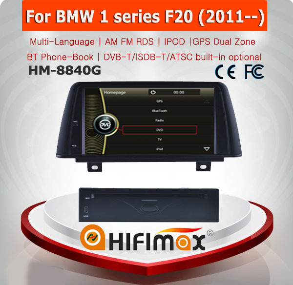 HIFIMAX car dvd gps for BMW 4 F32/F33 navigation head unit with Bluetooth RDS IPOD