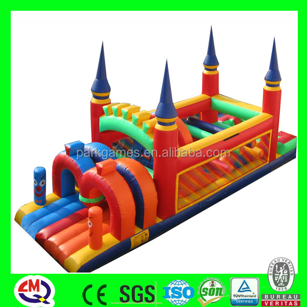 Customized inflatable for aqua park