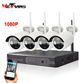 No cable Seay HD 4CH 1080P P2P Night Vision Wifi IP Security Camera System Wirelss