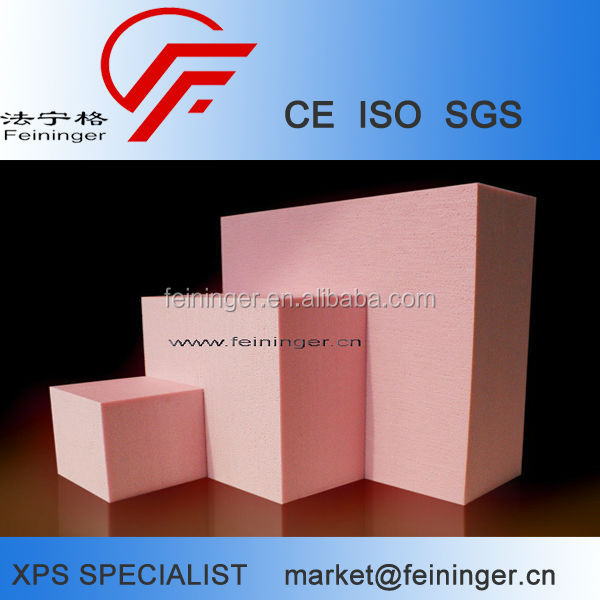 High R Value XPS Extruded Polystyrene Foam Blocks