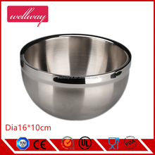 3 Piece Double Wall Stainless Steel Mixing Bowl Set