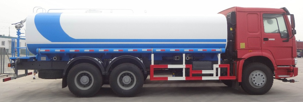HOWO 10 wheel 336hp Water Tanker Truck on sale for Tailand