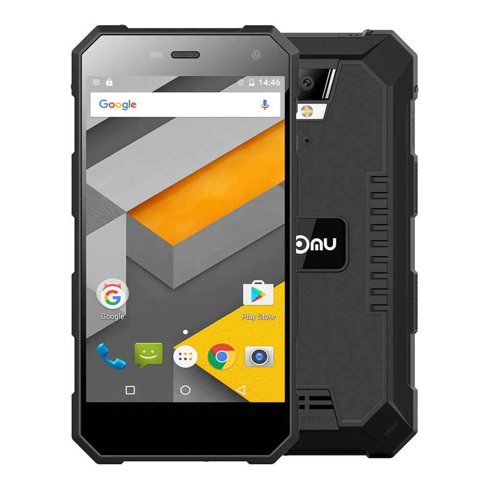 Original NOMU S10 IP68 Waterproof 5.0inch HD MTK6737T Quad-core 1.5GHz Android 6.0 4G LTE Mobile Phone 2GB 16GB 13.0MP Cellphone
