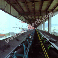 Stainless steel cord conveyor belt